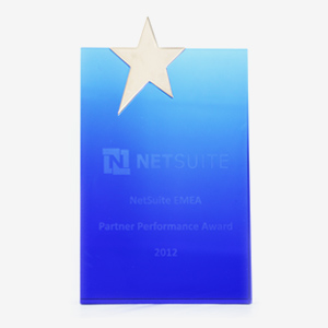 Netsuite EMEA Partner Performance Award