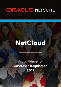 Netsuite Customer Acquisition Award 2017