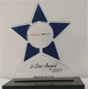 Netsuite 2 Star Award for 2017