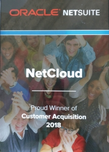 Netsuite Customer Acquisition Award 2018